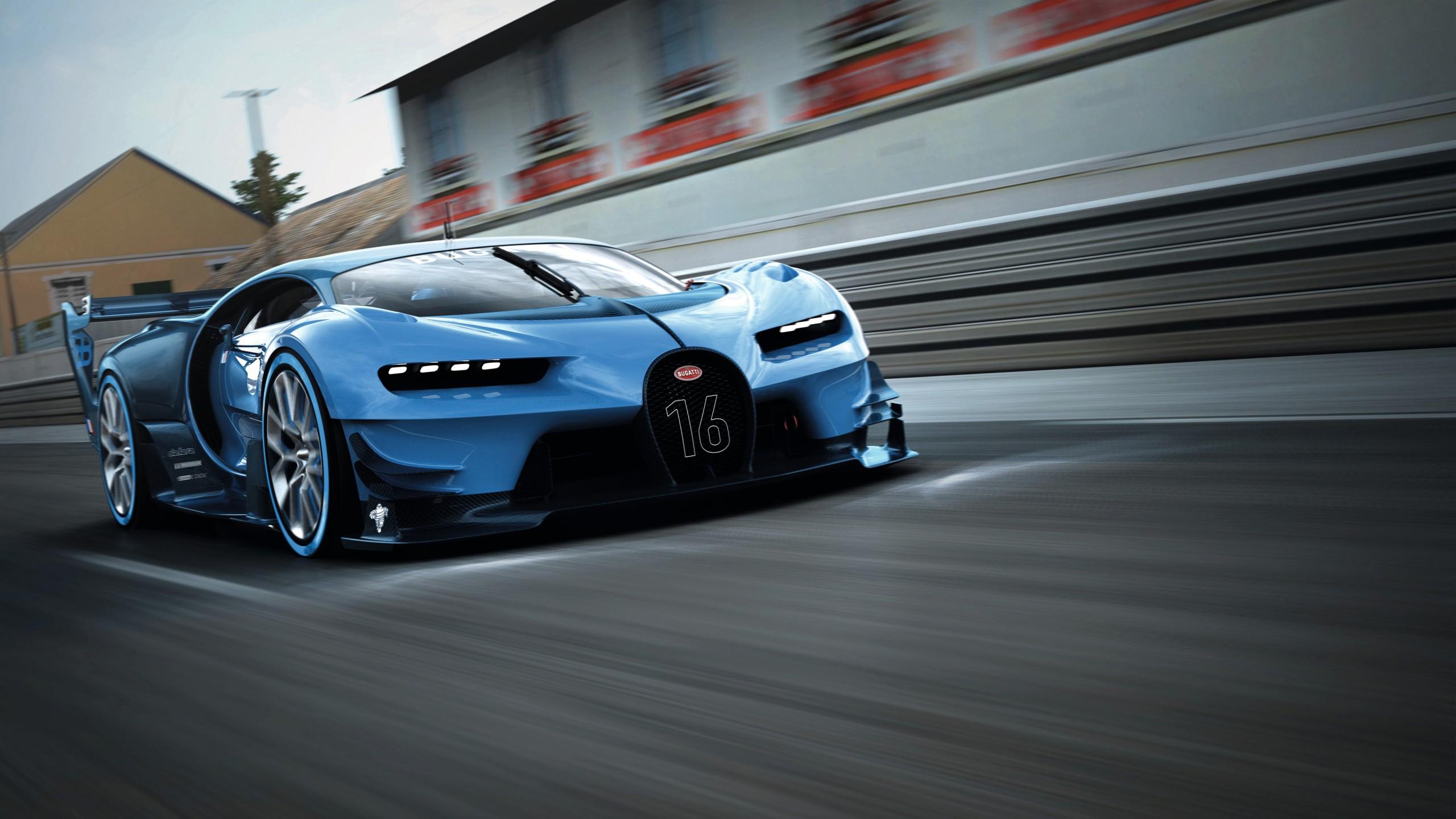 Widescreen Car Wallpapers Hd Bugatti Vision Gran Turismo 2015 Wallpaper Hd Car