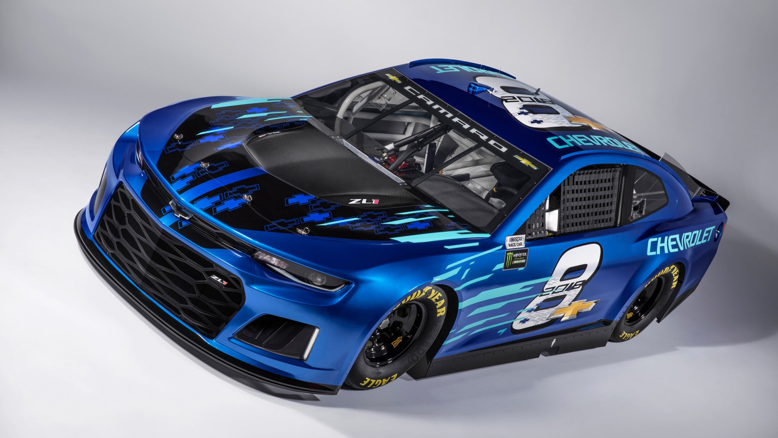 Land Rover Car Hd Wallpaper Download Chevrolet Camaro Zl1 Nascar Race Car 2018 Wallpaper Hd