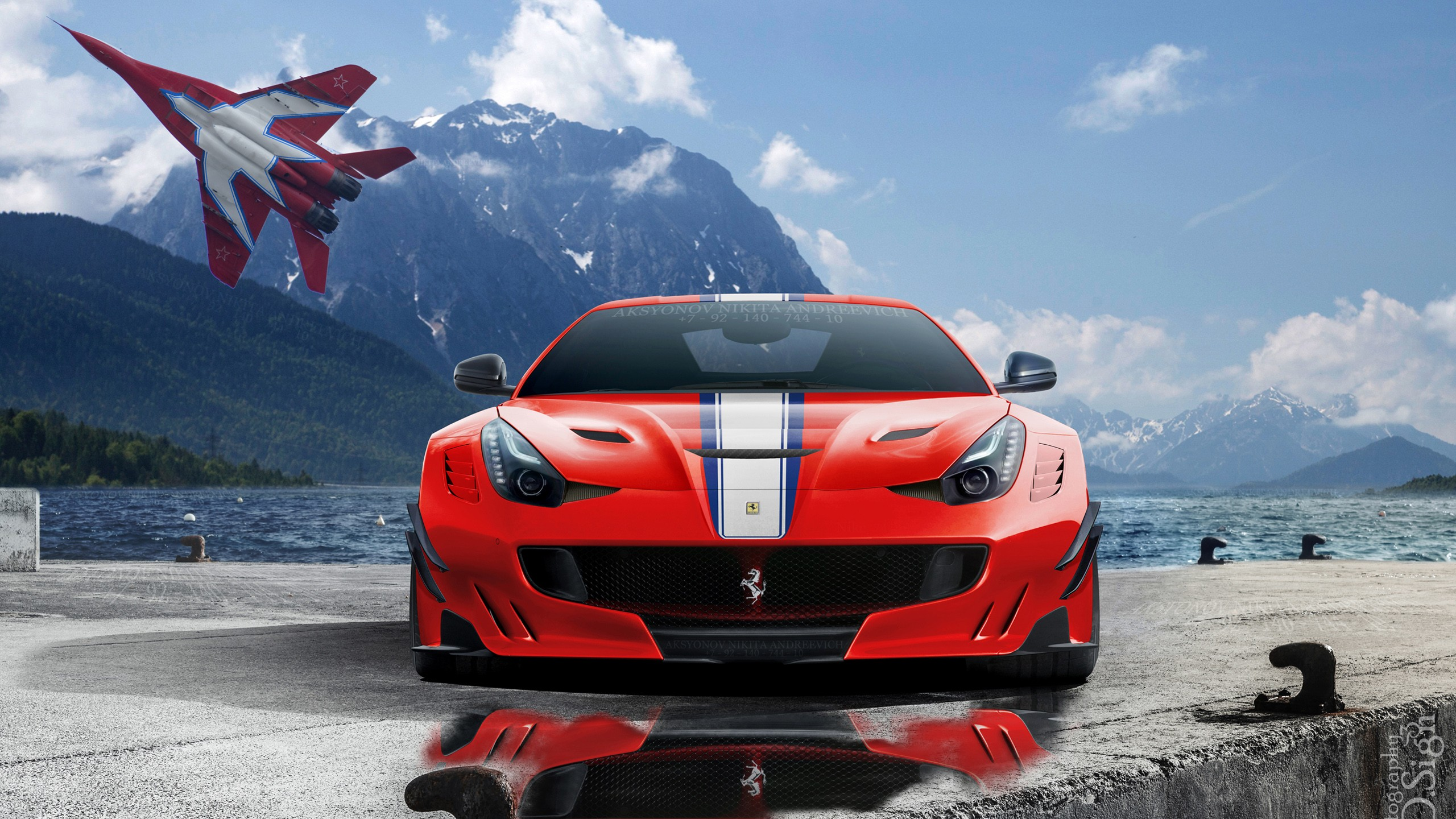 Cars Hd Wallpapers 1080p Lamborghini F12 Ferrari F12tdf Speciale Wallpaper Hd Car Wallpapers
