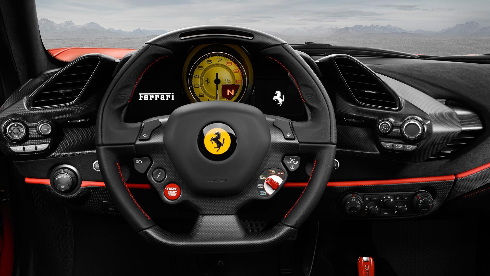 3d Black Jaguar Wallpaper Ferrari 488 Pista 4k 2018 3 Wallpaper Hd Car Wallpapers