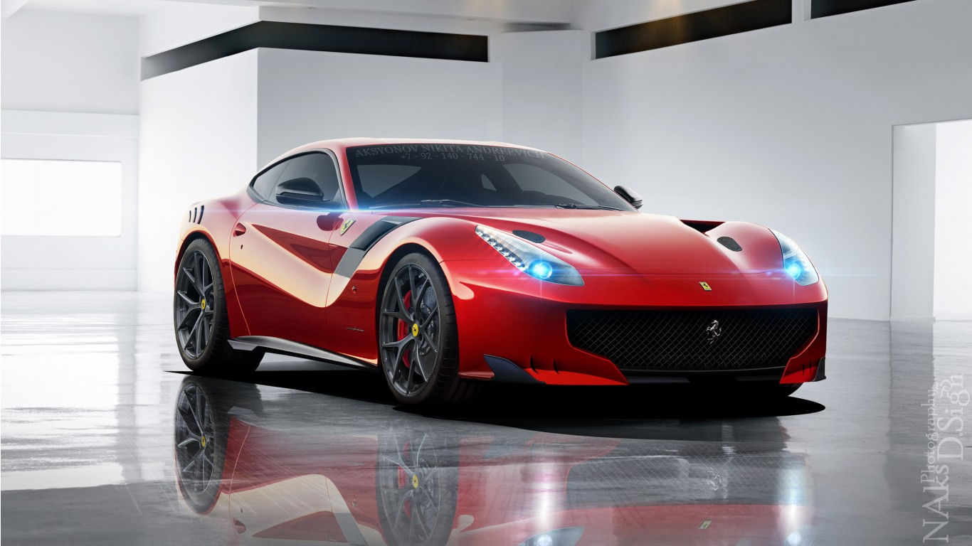 Iphone Muscle Car Wallpapers Ferrari F12 Gto Wallpaper Hd Car Wallpapers Id 5919