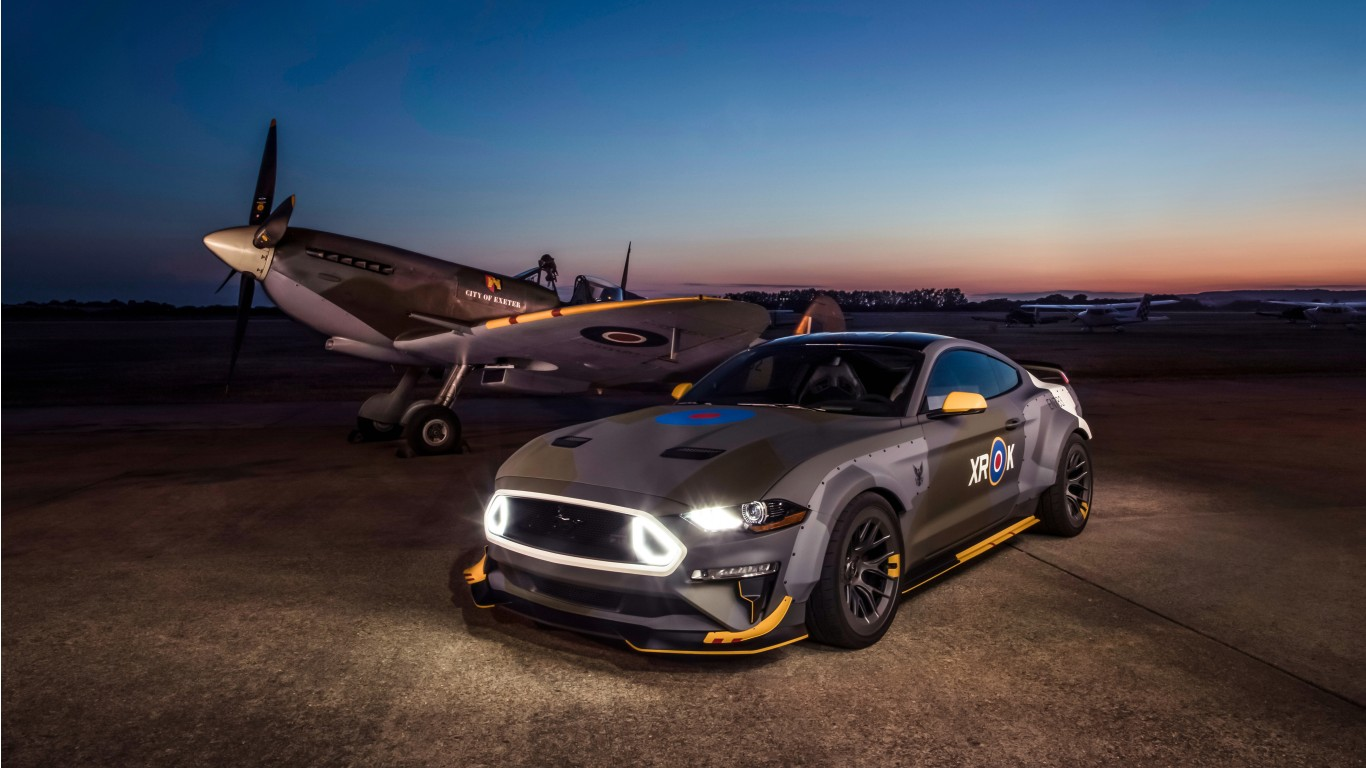 Mustang Car Wallpaper 4k Ford Eagle Squadron Mustang Gt 2018 4k 2 Wallpaper Hd