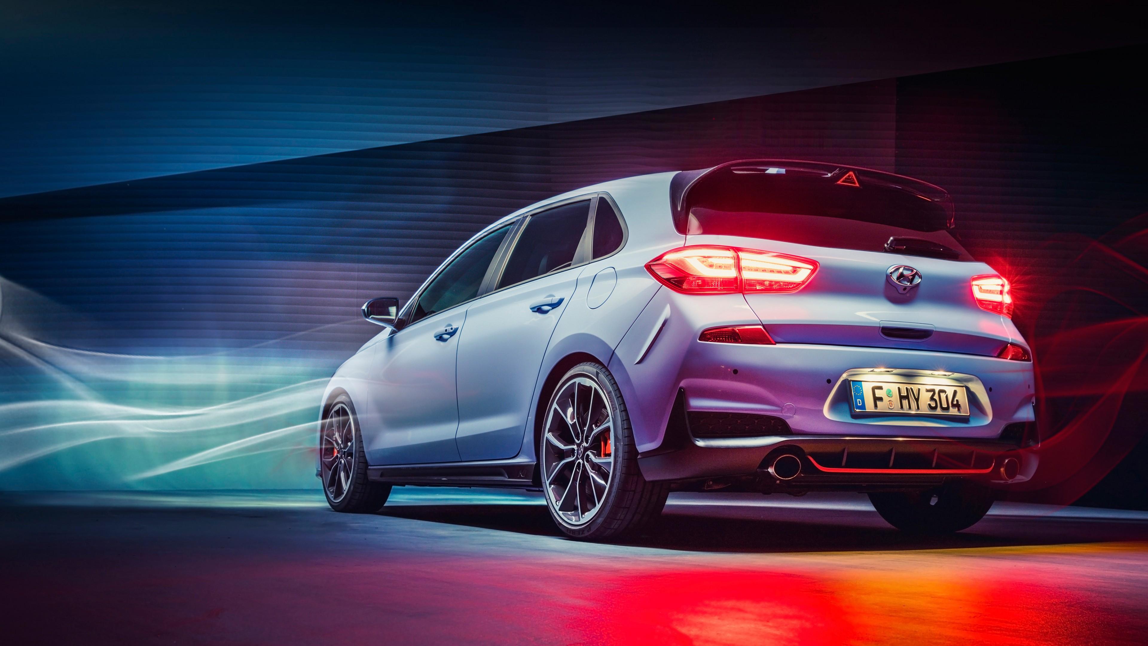 Honda City Car Hd Wallpaper Download Hyundai I30 N 2017 Rear Wallpaper Hd Car Wallpapers Id