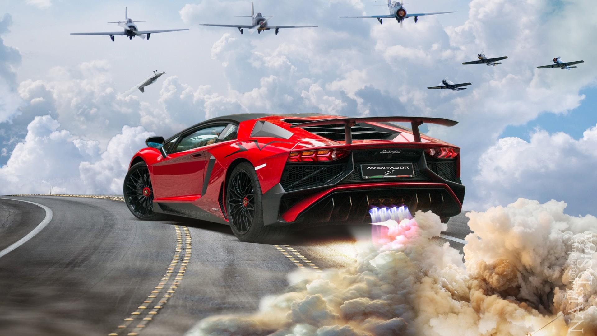 Lamborghini Cars Photos Wallpapers Lamborghini Aventador Lp 750 4 Superveloce After Space