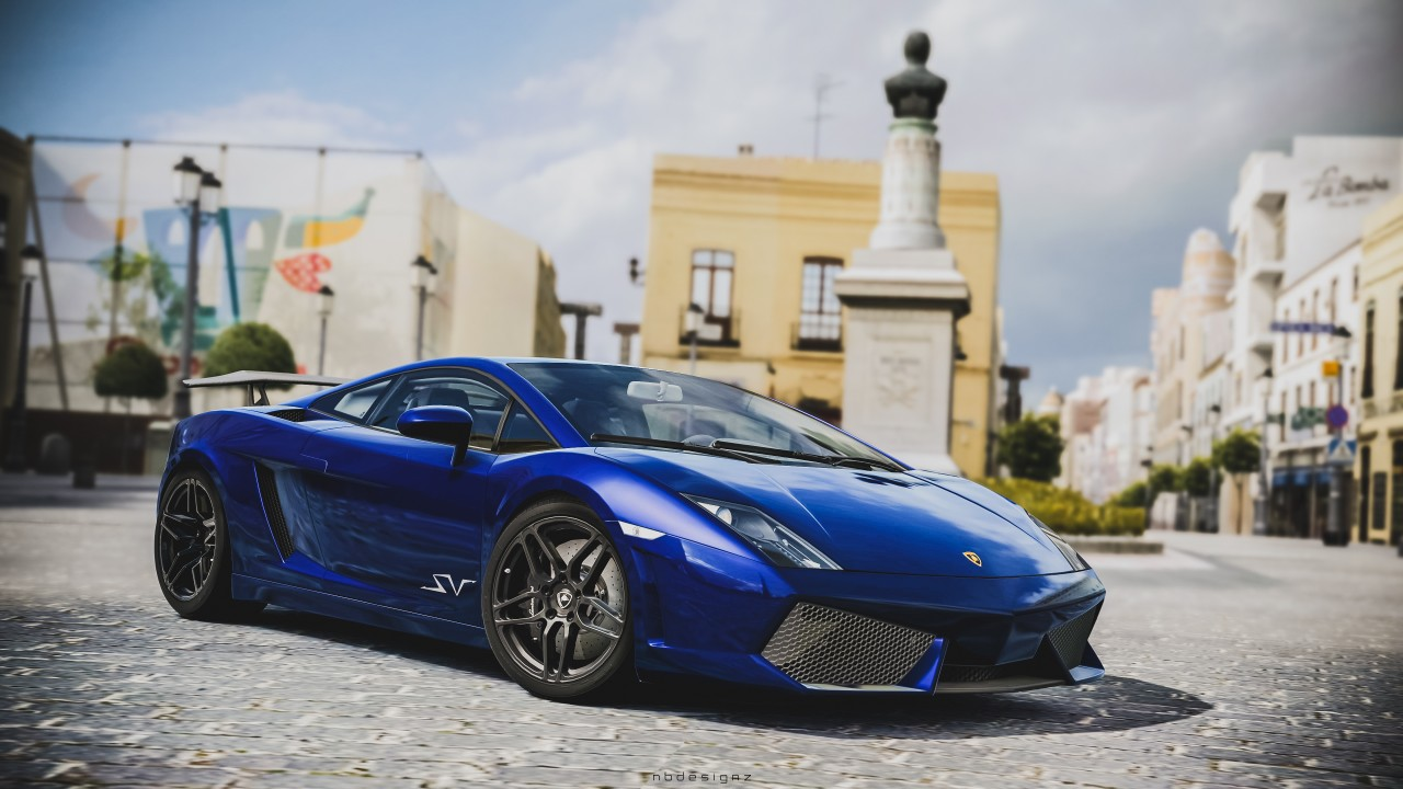 Wallpaper Blue Iphone X Lamborghini Gallardo Sv Gran Turismo 6 Wallpaper Hd Car