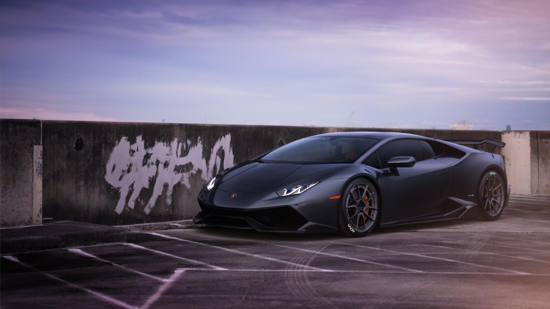 Veneno Hd Wallpaper Lamborghini Huracan On Adv1 Wheels 2 Wallpaper Hd Car