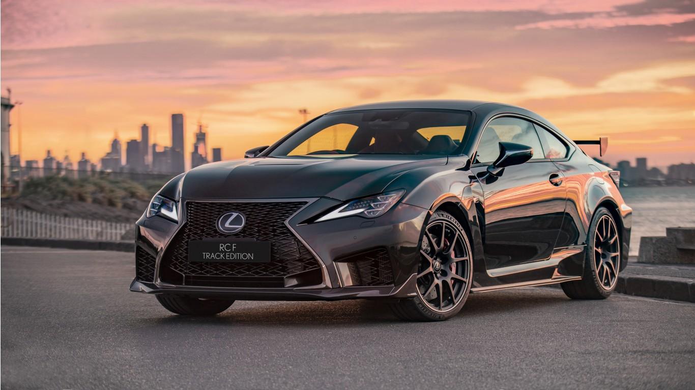 Hd Hybrid Car Wallpaper Lexus Rc F Track Edition 2019 Wallpaper Hd Car