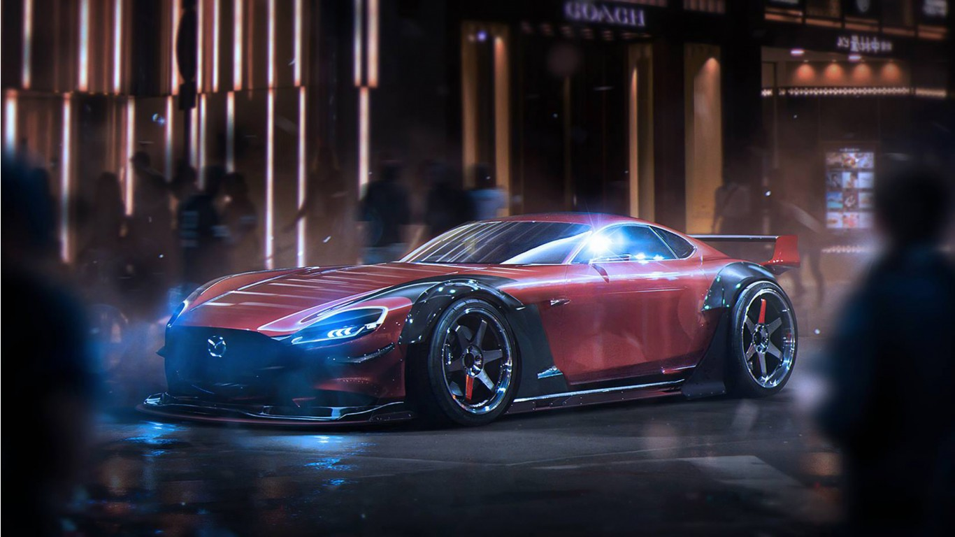 Rx8 Iphone Wallpaper Mazda Rx Vision Concept Wallpaper Hd Car Wallpapers Id