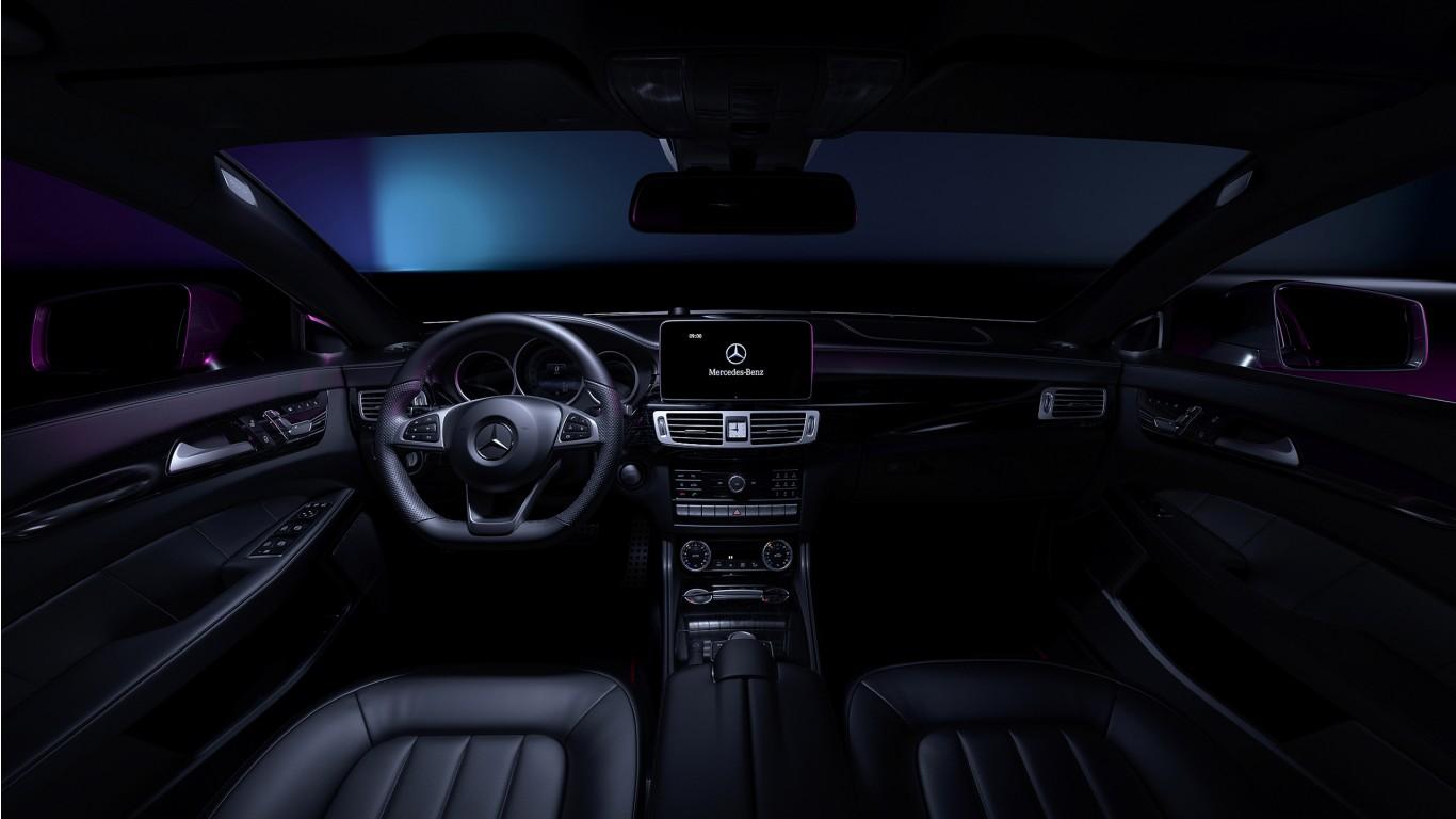 Iphone 6 Car Wallpaper Bmw Mercedes Benz Cls Interior Wallpaper Hd Car Wallpapers