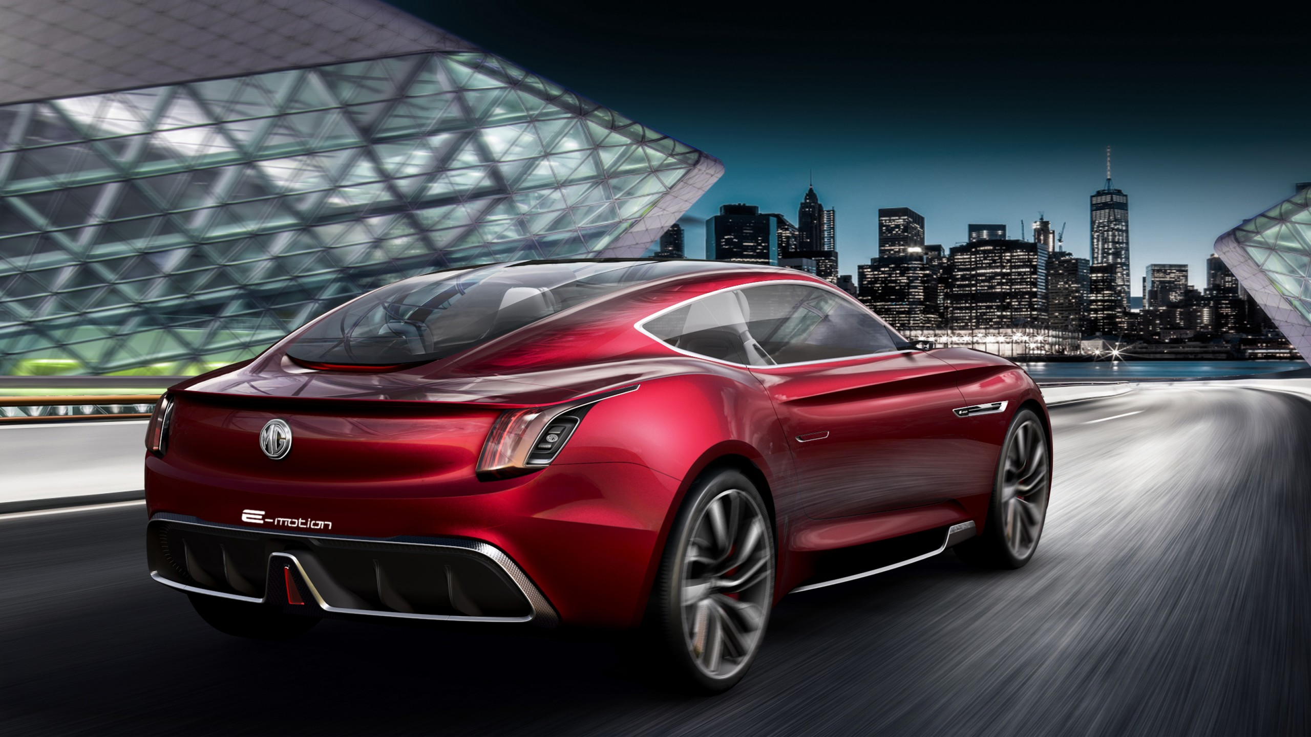 Car Wallpaper Cadillac 2018 Mg E Motion Concept Car 4 Wallpaper Hd Car Wallpapers