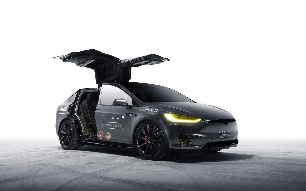 1080p Muscle Car Wallpaper Model X Tesla Motors Wallpaper Hd Car Wallpapers Id 5976