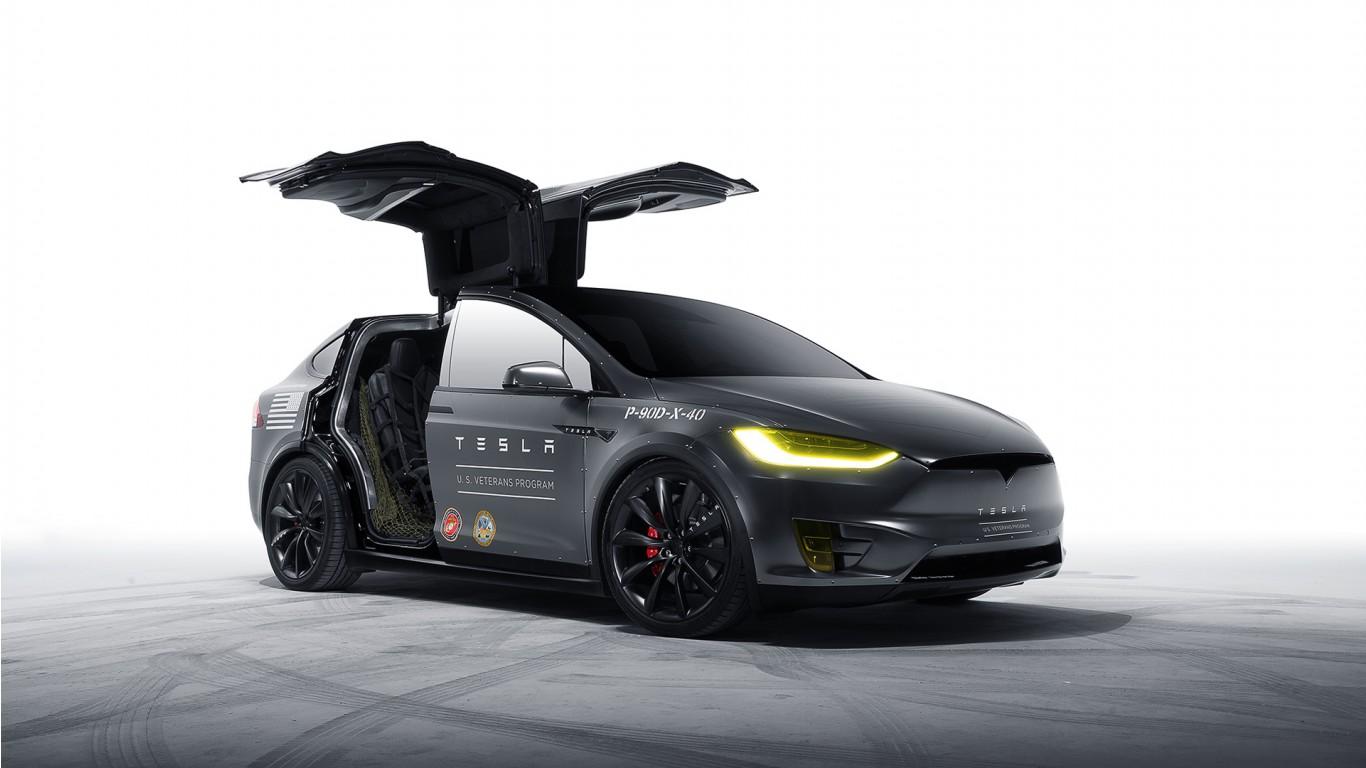 Bmw Hd Wallpapers 1080p Download Model X Tesla Motors Wallpaper Hd Car Wallpapers Id 5976