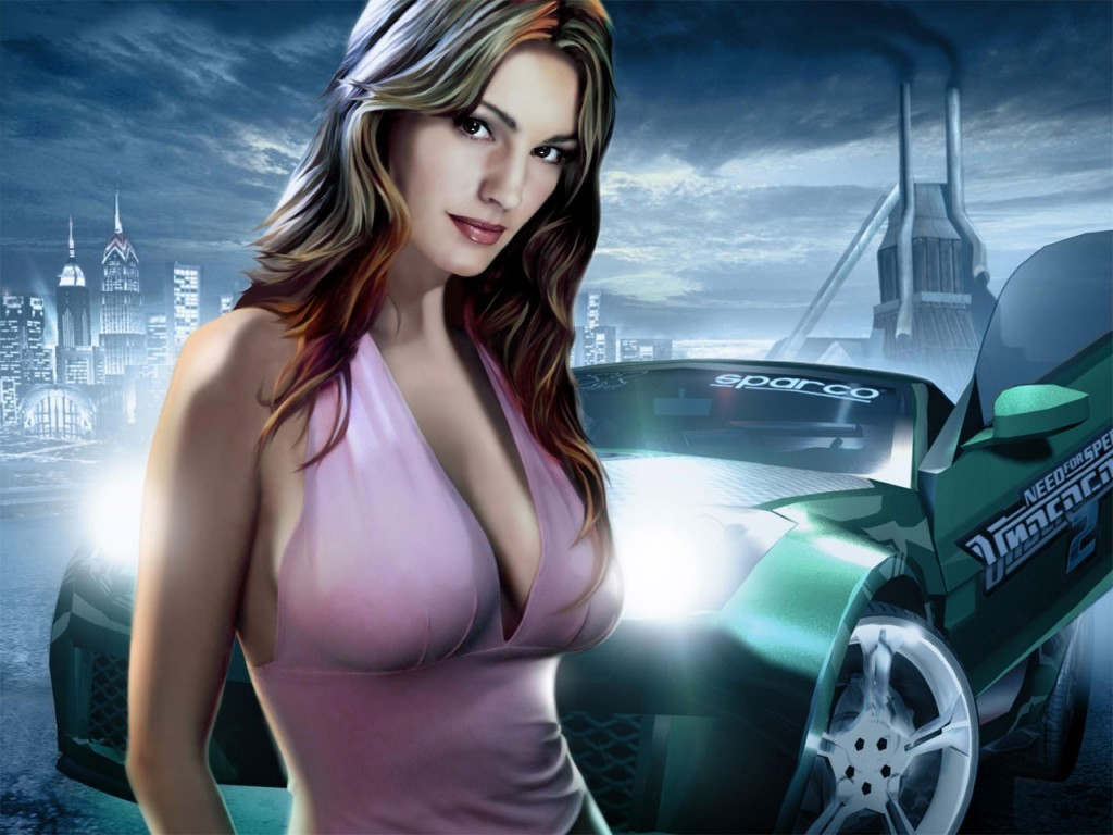 Widescreen Car Wallpapers Hd Need For Speed Babe Wallpaper In 1024x768 Resolution
