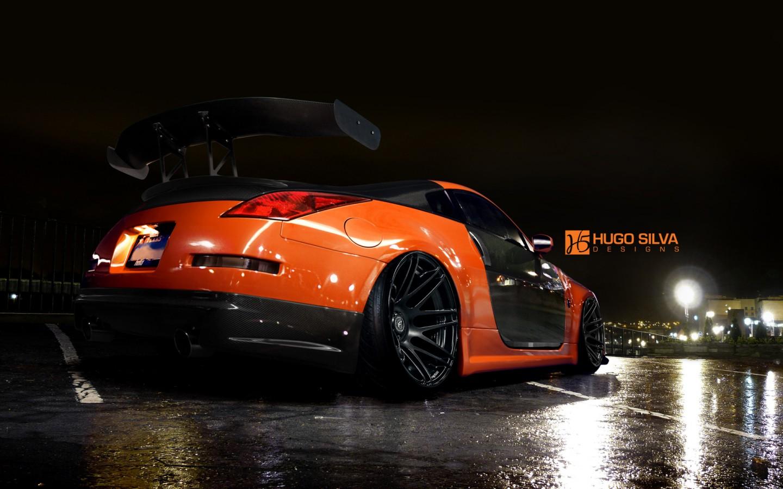 Latest 3d Wallpaper Designs Orange Nissan 350z Wallpaper Hd Car Wallpapers Id 4915
