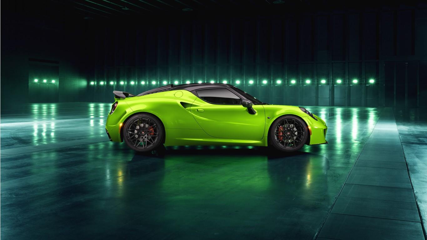 Green Wallpaper Iphone 5 Pogea Racing Alfa Romeo 4c Centurion Green Arrow 2018 4k 5