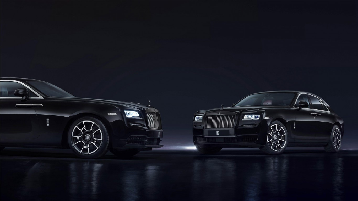 Dual Screen Car Wallpaper Rolls Royce Ghost Wraith Black Badge 2016 Wallpaper Hd
