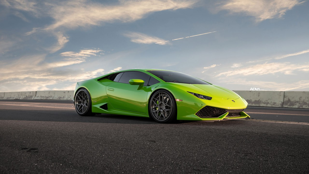 Veneno Hd Wallpaper Verde Mantis Green Lamborghini Huracan Lp610 4 Wallpaper