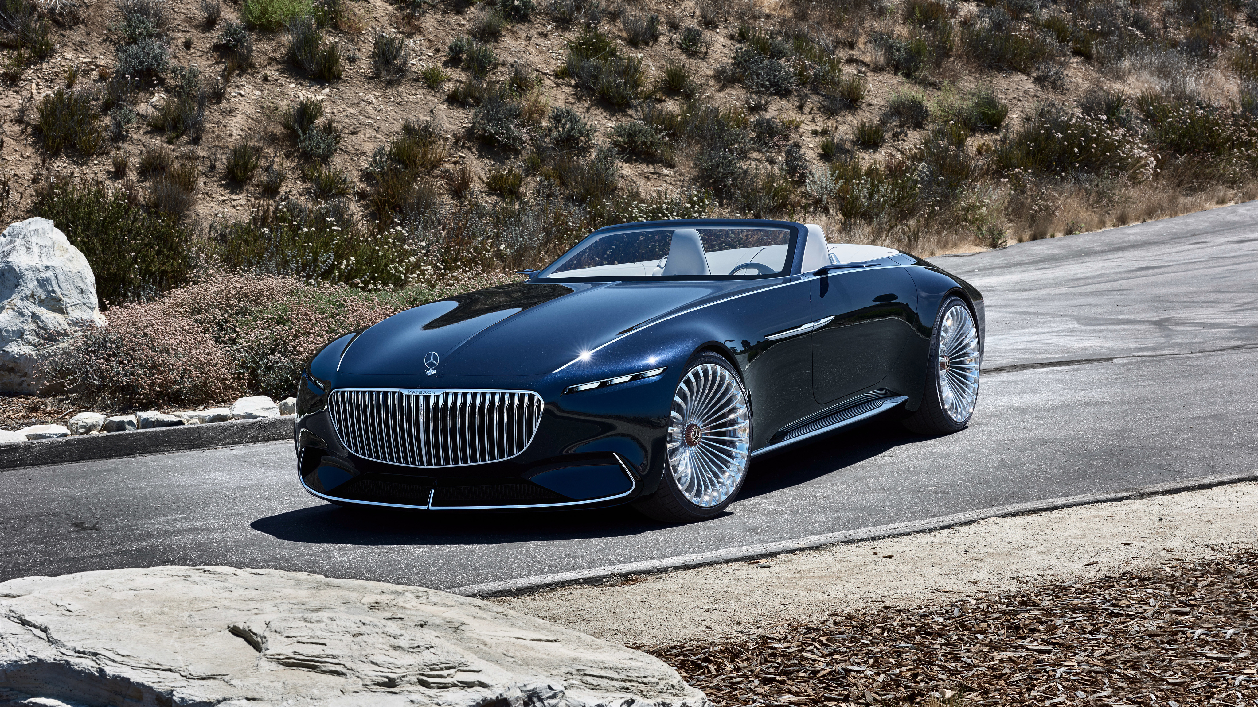 Mercedes Car Wallpapers For Windows 7 2018 Vision Mercedes Maybach 6 Cabriolet 7 Wallpaper Hd