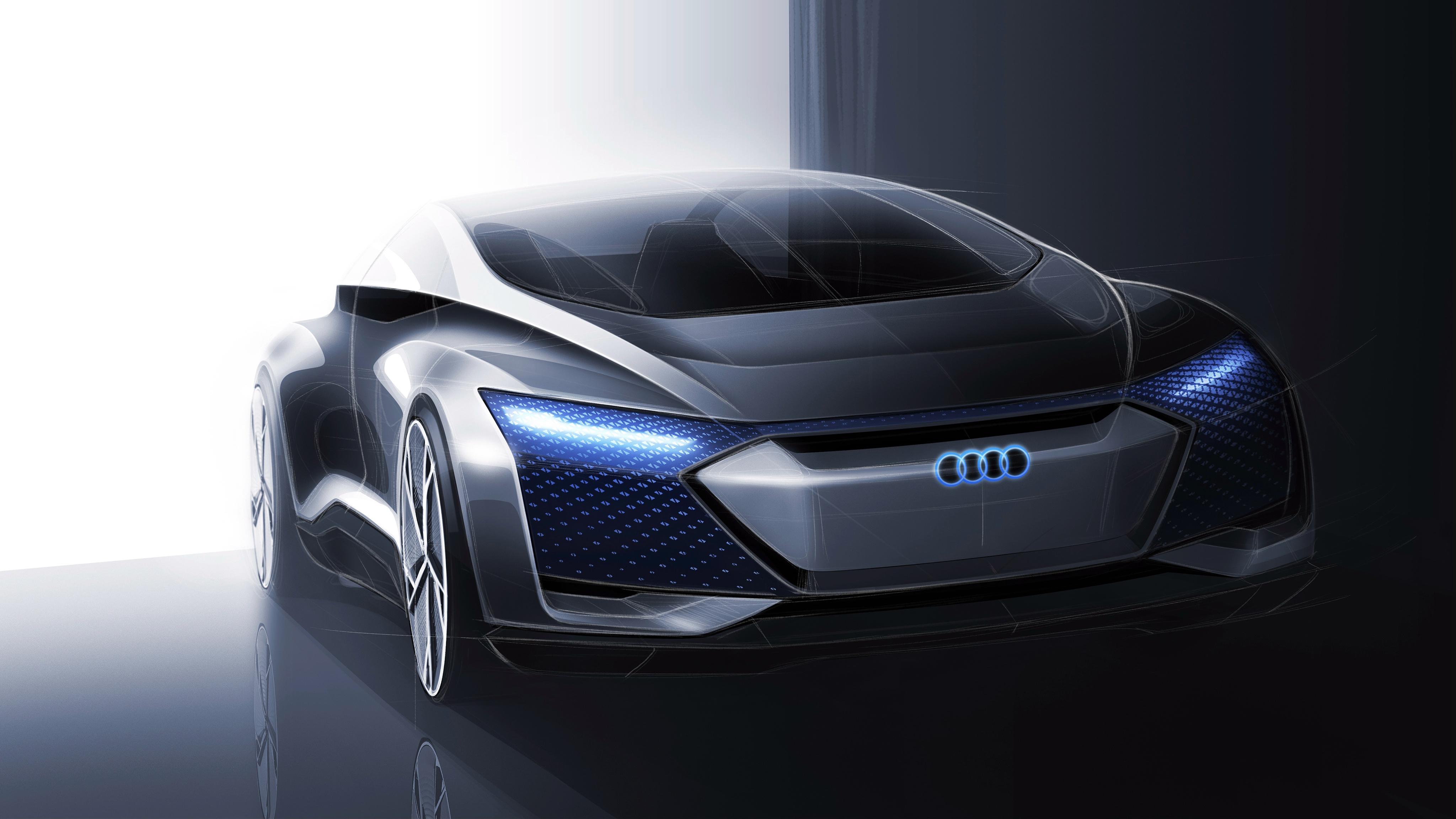 Porsche Boxster Wallpaper Hd Audi Aicon Concept Car 4k Wallpaper Hd Car Wallpapers