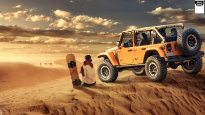 Jeep Wrangler Desert Off road Wallpaper | HD Car Wallpapers | ID #8039