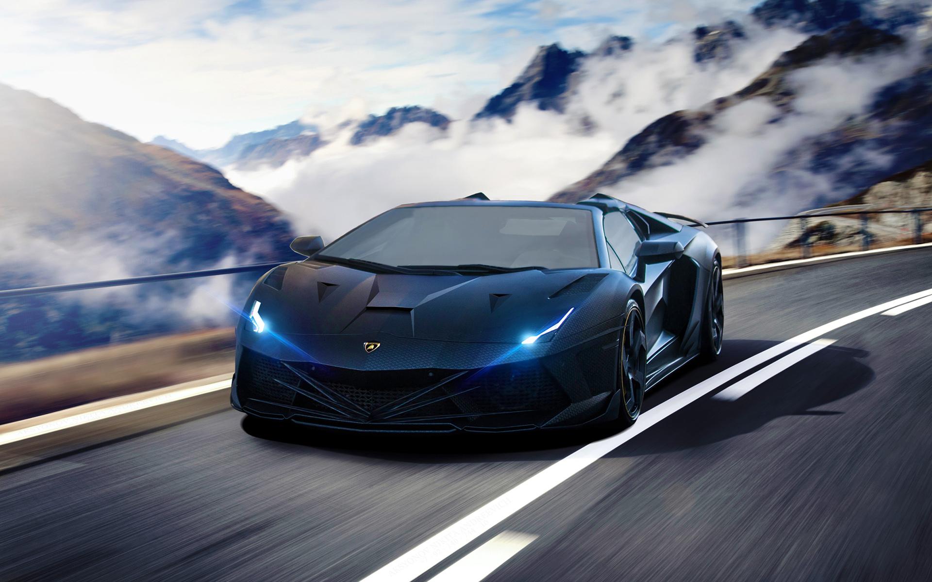 Lamborghini Car Wallpaper Desktop Lamborghini Aventador Supercar Wallpaper Hd Car