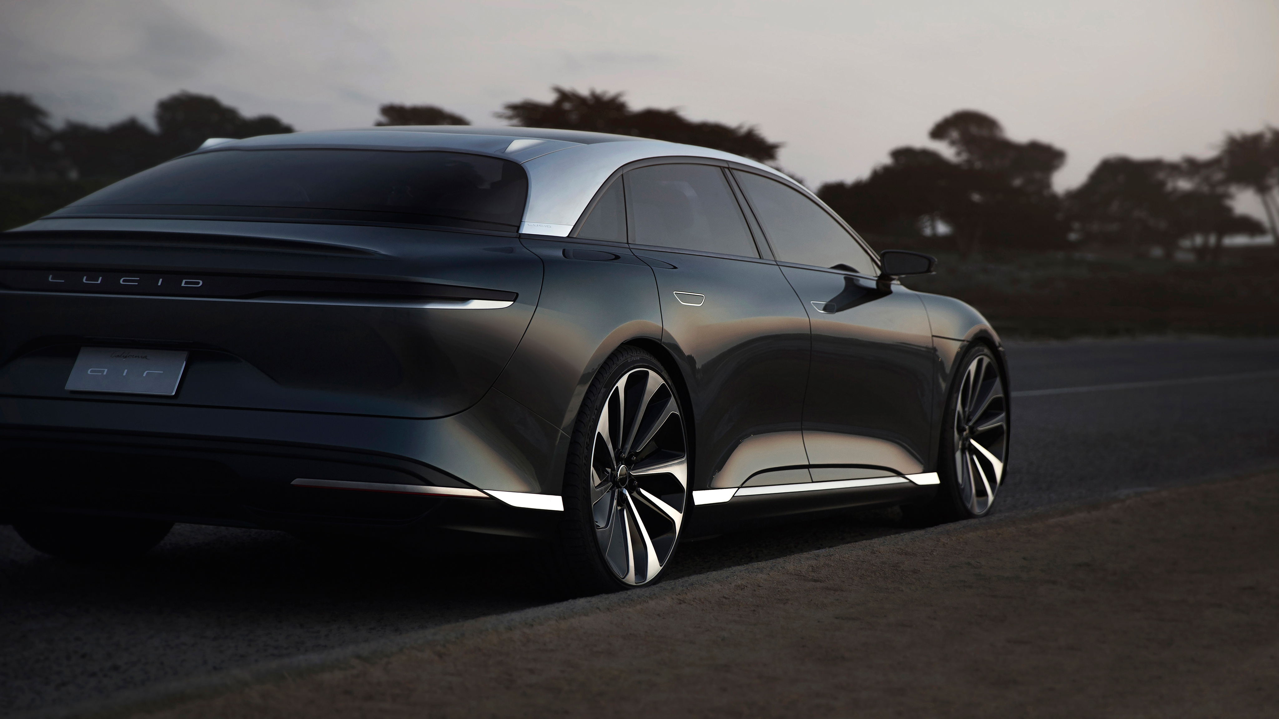 Mercedes Car Wallpapers For Windows 7 Lucid Air Prototype 7 Wallpaper Hd Car Wallpapers Id 8223