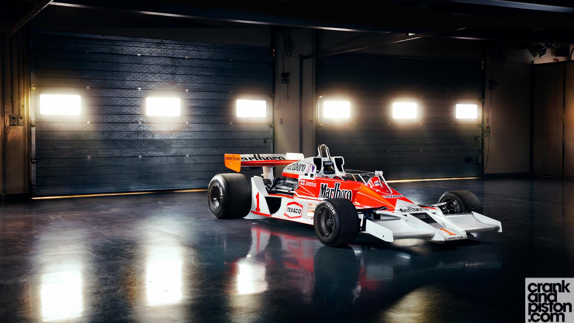Mclaren F1 Iphone Wallpaper Mclaren M26 James Hunt Dubai Autodrome Wallpaper Hd Car