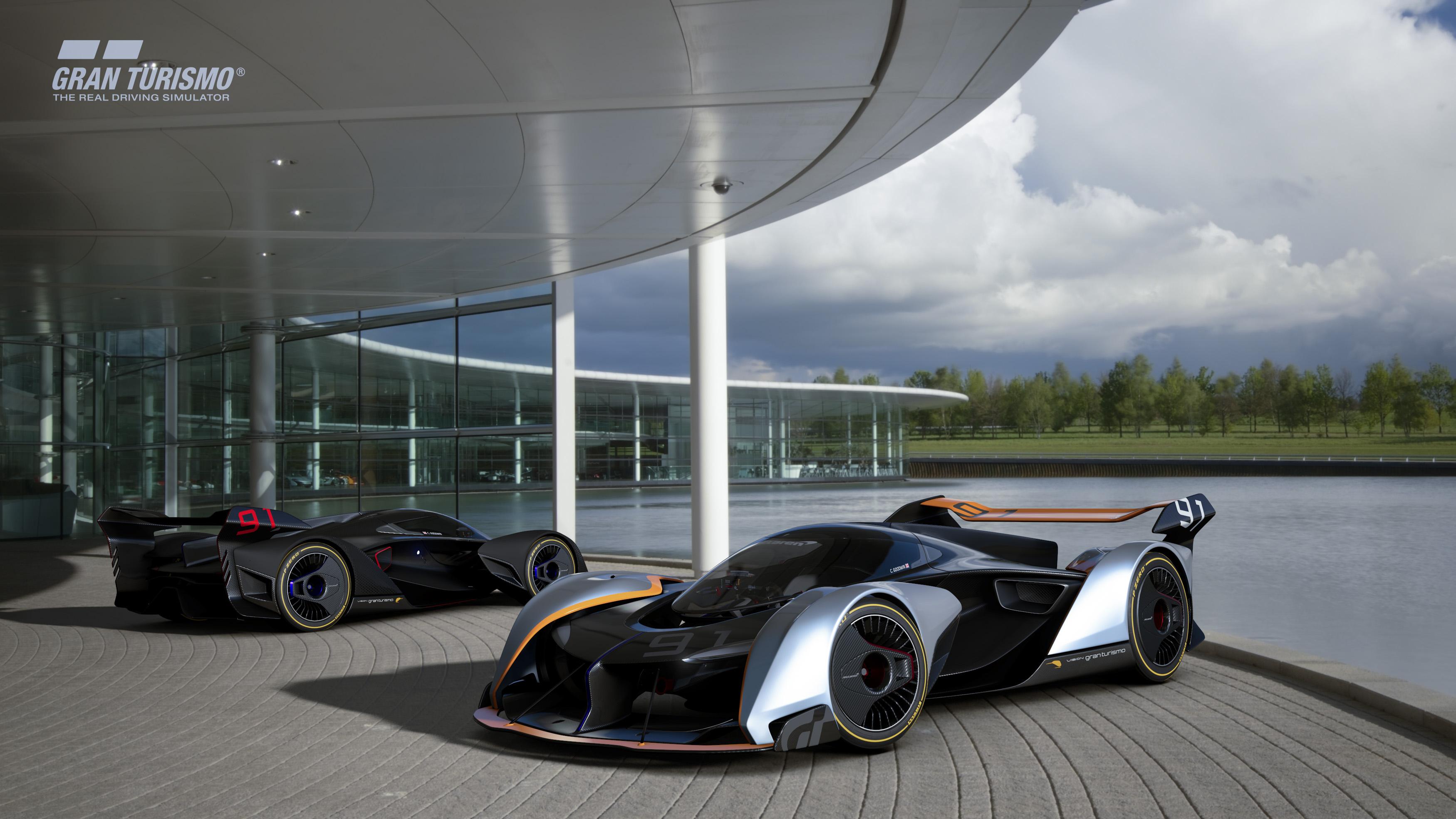 Mclaren F1 Iphone Wallpaper Mclaren Ultimate Vision Gt For Ps4 Gran Turismo Sport 8