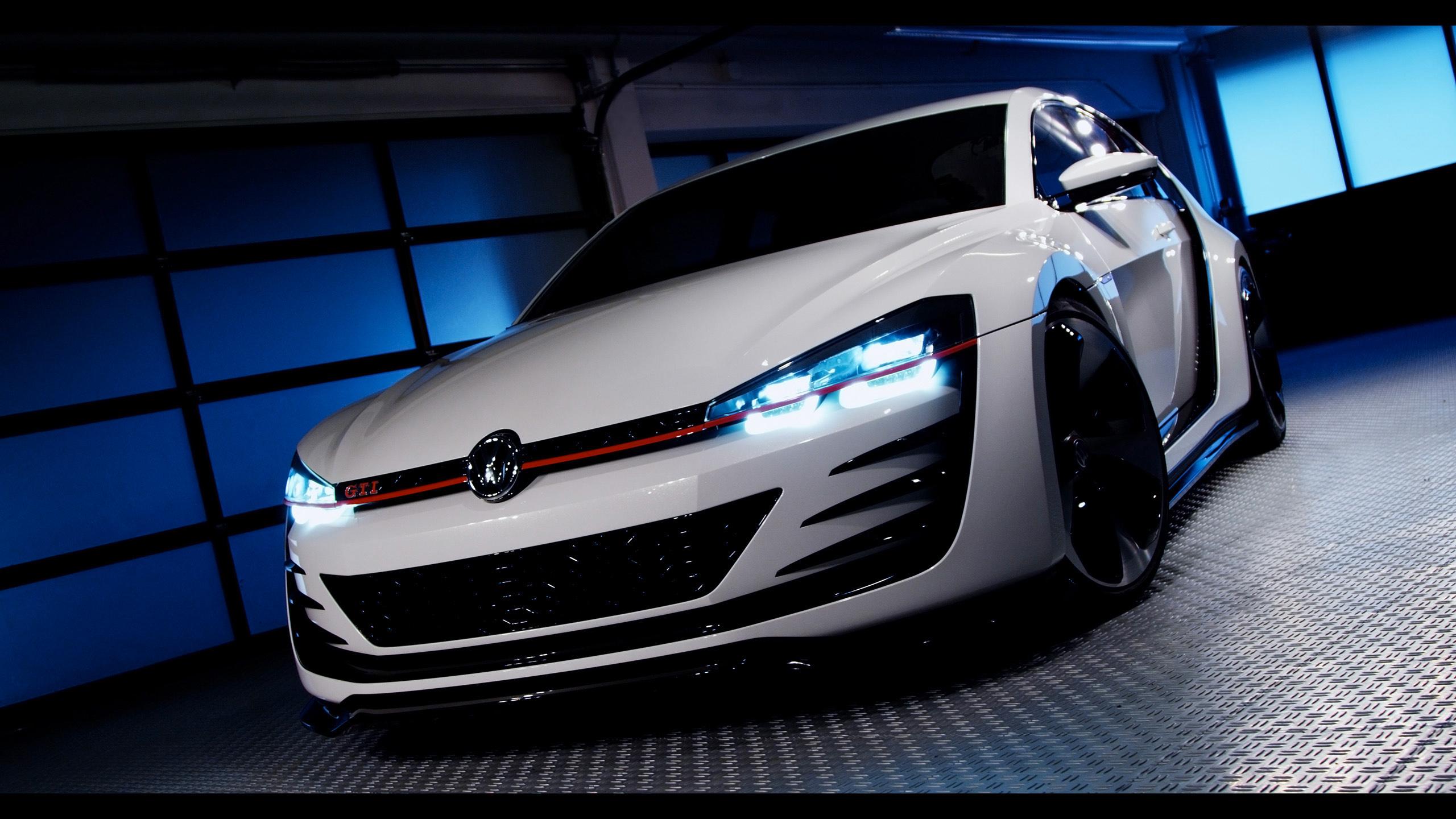 Vw Gti Wallpaper Iphone Volkswagen Design Vision Gti Wallpaper Hd Car Wallpapers