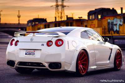View Of Nissan Gt R Hd Wallpapers : Hd Car Wallpapers