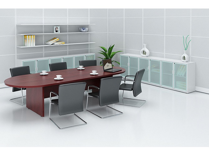 ID: HT CT27, 6-Seater Conference Table