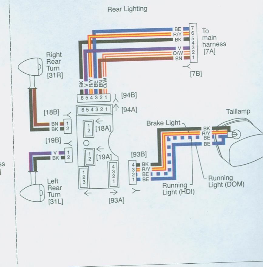 Harle Davidson Wiring Harness Wiring Diagram