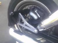 flip open side mount license plate bracket conversion to ...