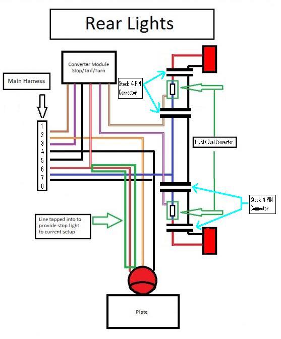 Led Tail Light Wiring Diagram - wiring diagrams image free - gmailinet