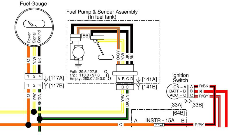 Gauge Wiring Diagram - Wiring Diagram Progresif
