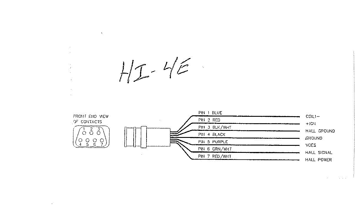 4 pin connector wiring diagram