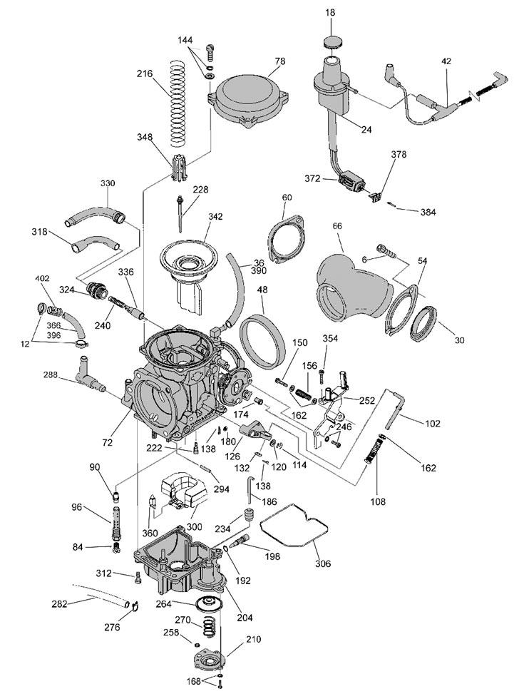 harley davidson keihin carburetor diagram