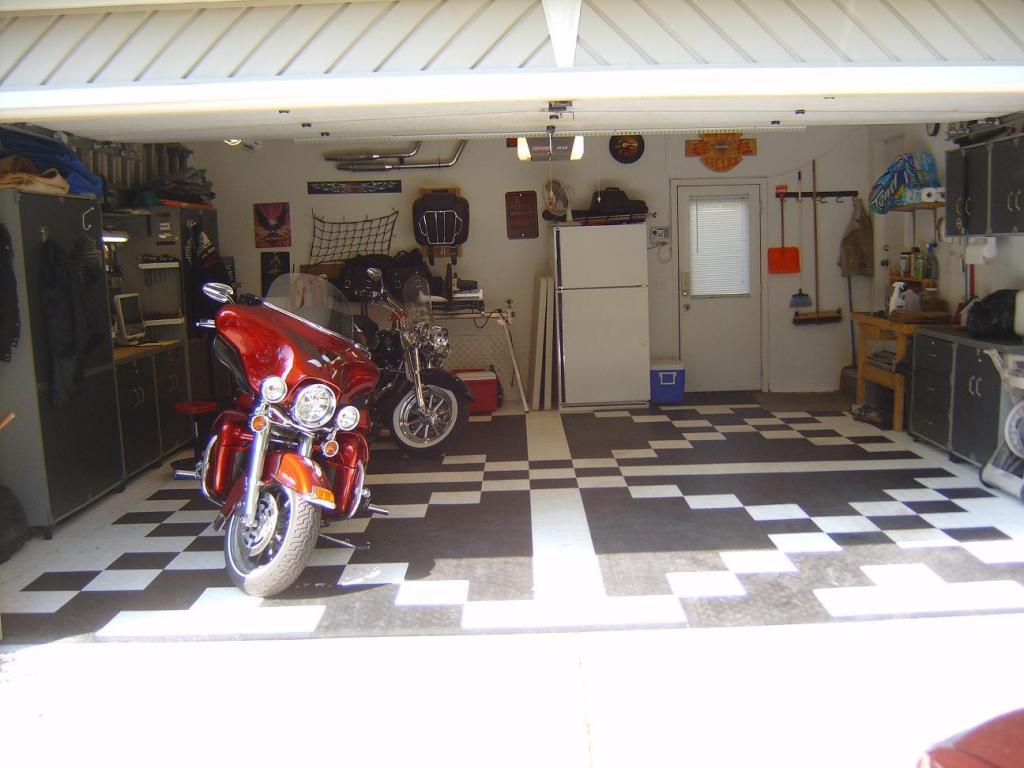 Garage Floor Coating Harley Davidson Forums