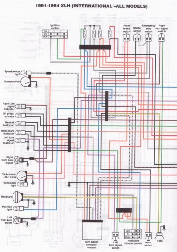 1994 Harley Davidson Wiring Diagram - Carbonvotemuditblog \u2022