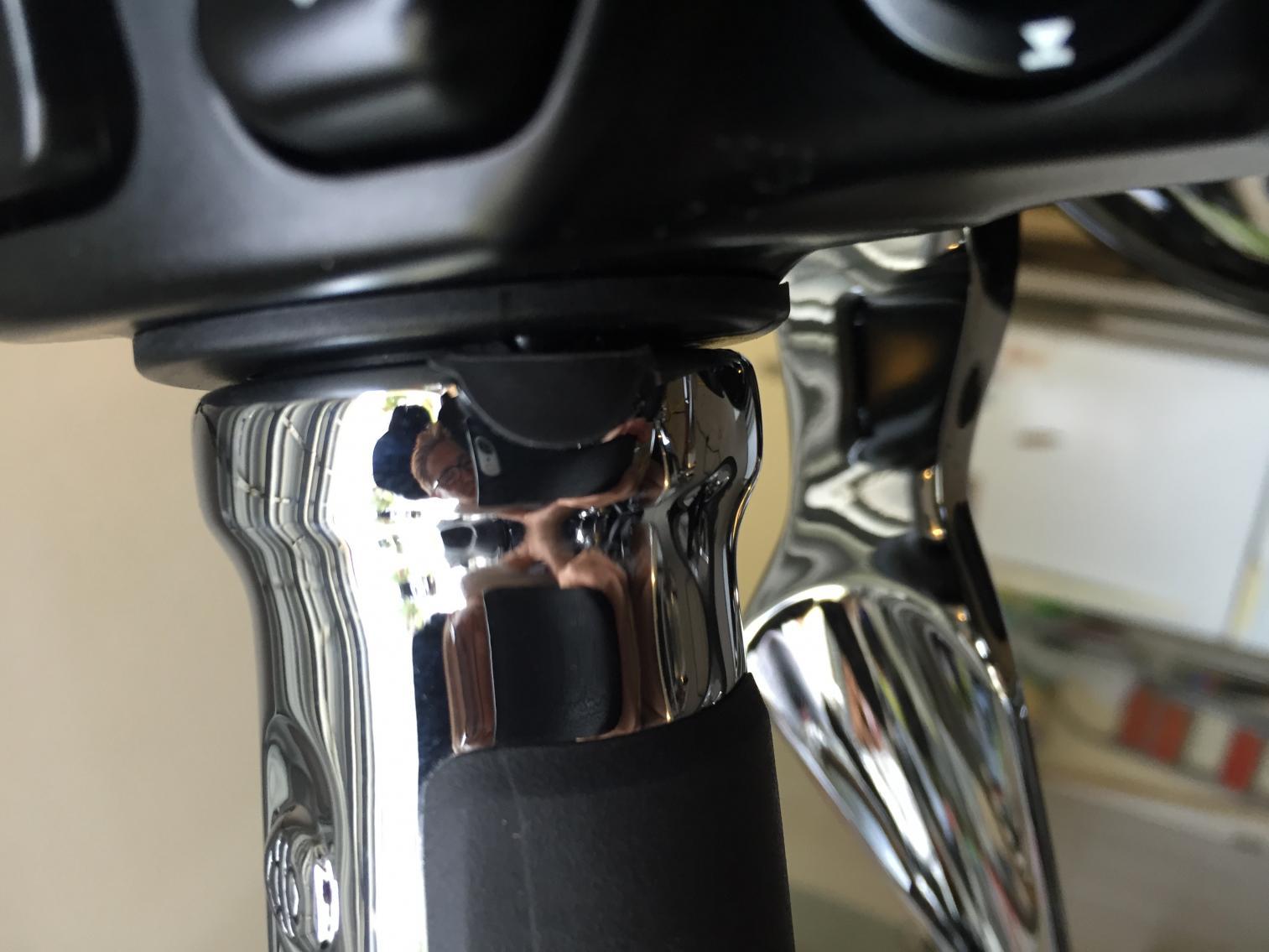 2014 Limited Slipstream Heated Grip Installed Harley