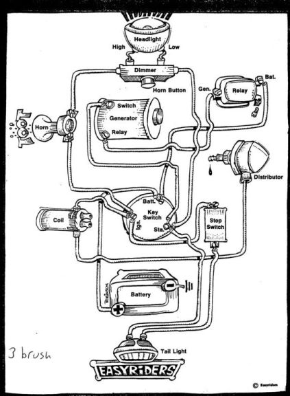 57 Chevy Headlight Wiring Diagram | mwb-online.co on