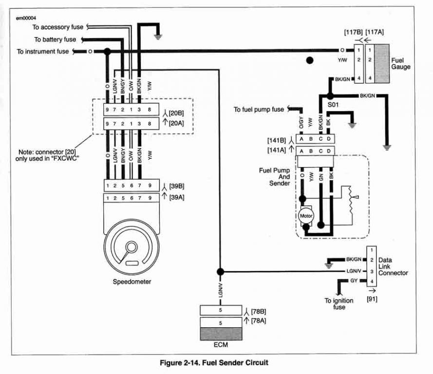 Harley Fuel Pump Diagram - Wiring Diagrams