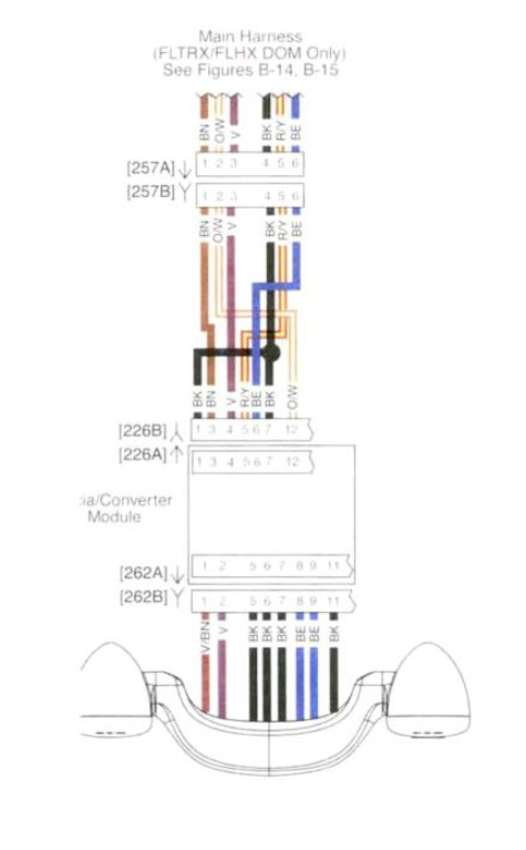 2012 road king wiring diagram