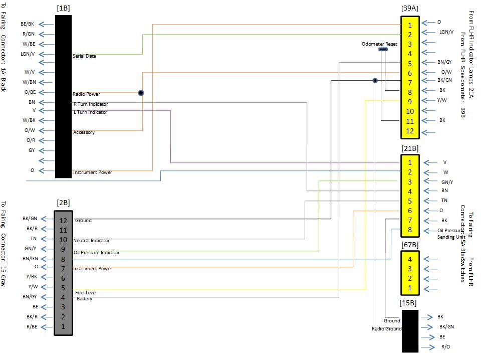 road glide fairing wiring schematic