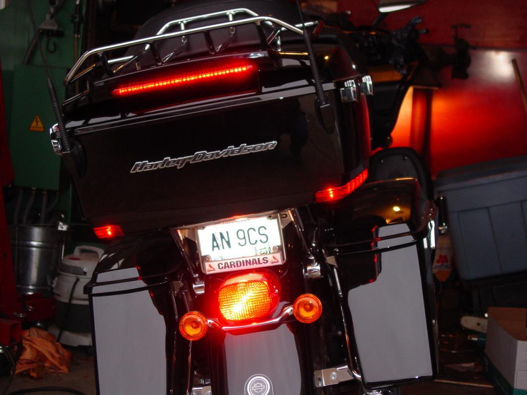 Anyone Who Has Installed The Tour Pak Spoiler Light Kit