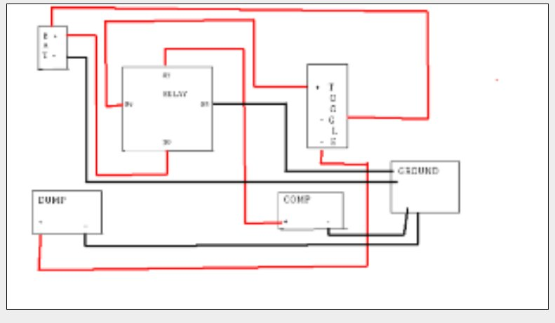 air ride wiring diagram for motorcycle