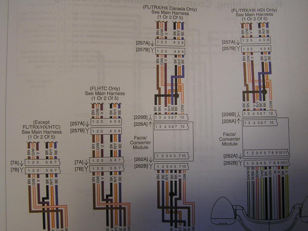 2010 to 2013 FLHX wiring diagram - Harley Davidson Forums