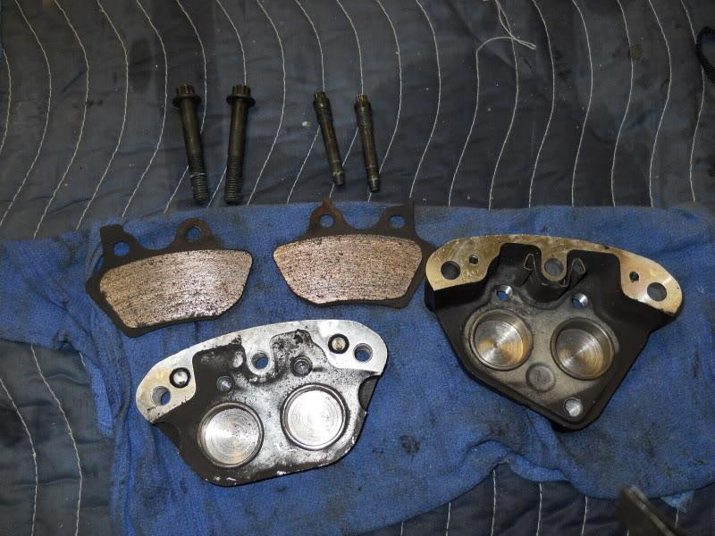 Brake caliper rebuild + photos - Harley Davidson Forums