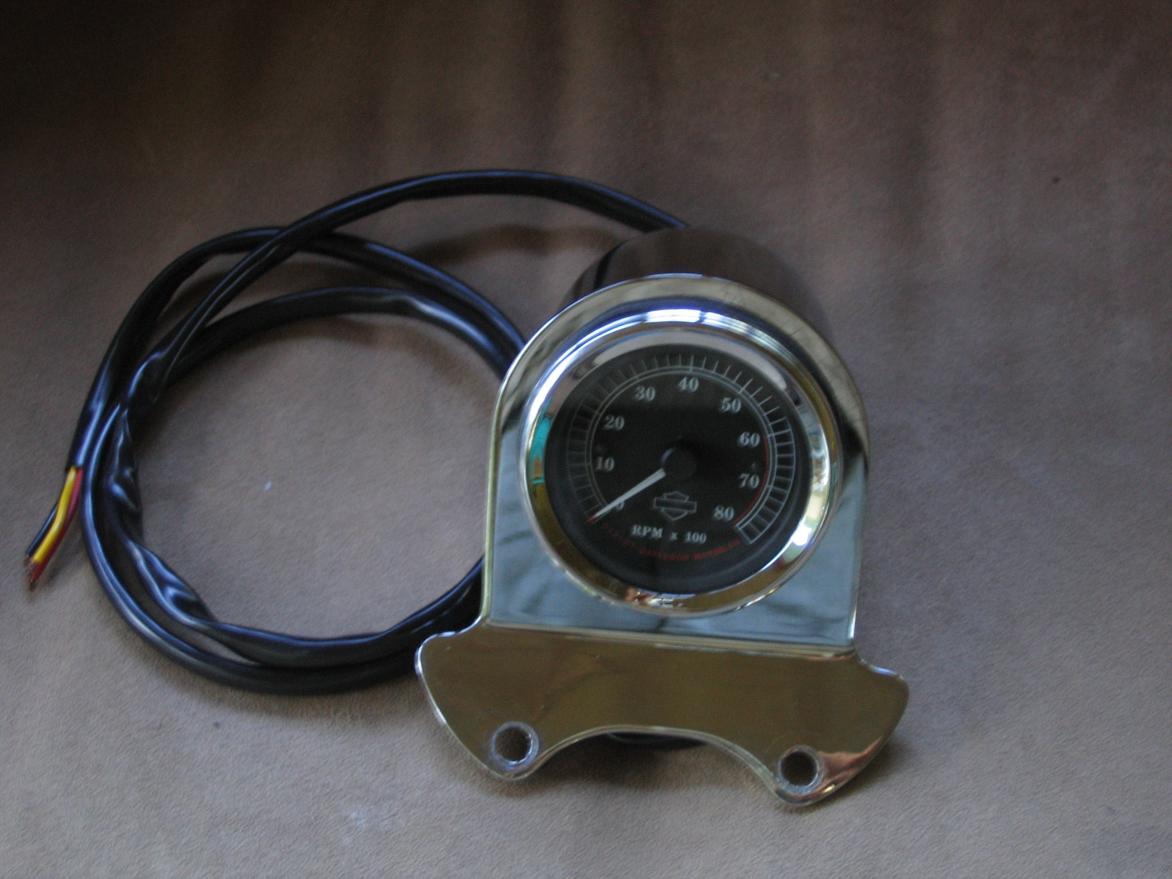 harley tachometer wiring