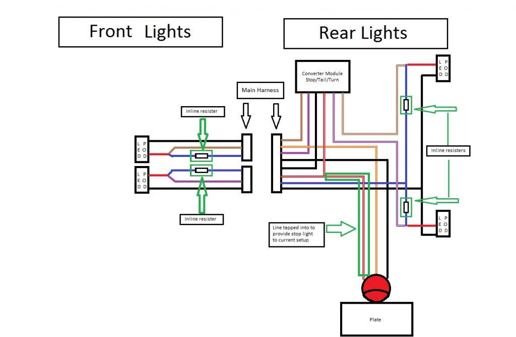 2007 road king brake wire diagram